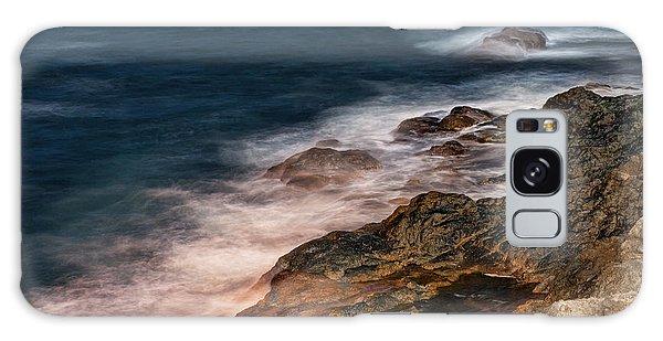 Waves And Rocks At Sozopol Town Galaxy Case