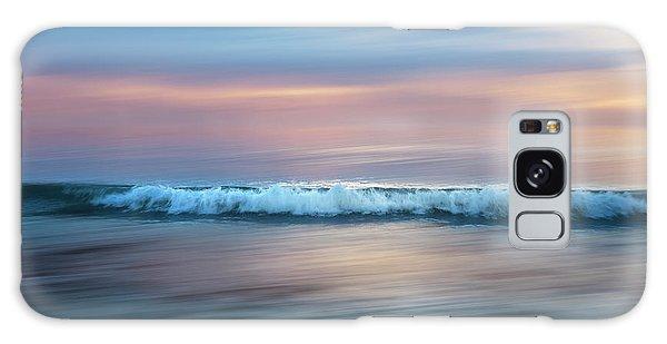 Breaking Dawn Galaxy Case - Waves Of Soft Light by Debra and Dave Vanderlaan