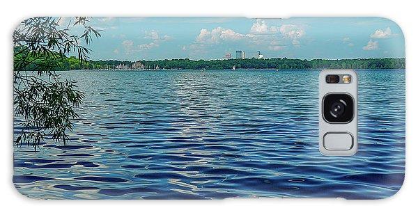 Waves On Lake Harriet Galaxy Case