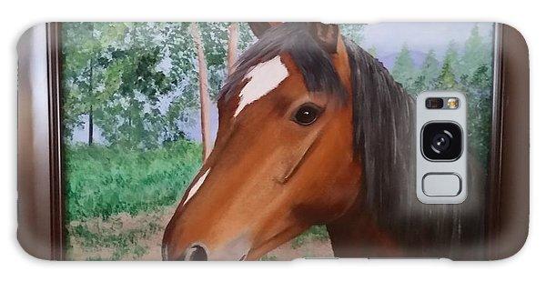 Wayne's Horse Galaxy Case