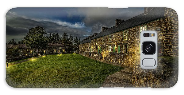 Galaxy Case - Welsh Cottages Twilight by Adrian Evans