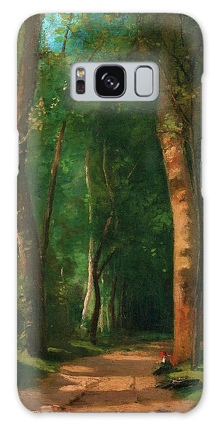 Country Living Galaxy Case - Went Into A Forest - Digital Remastered Edition by Camille Pissarro