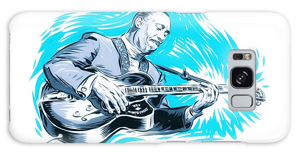 Hard Bop Galaxy Case - Wes Montgomery - An Illustration By Paul Cemmick by David Richardson