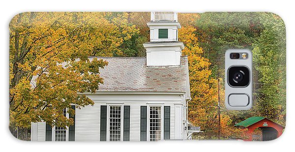 Galaxy Case featuring the photograph West Arlington Vermont Village Green by Expressive Landscapes Fine Art Photography by Thom