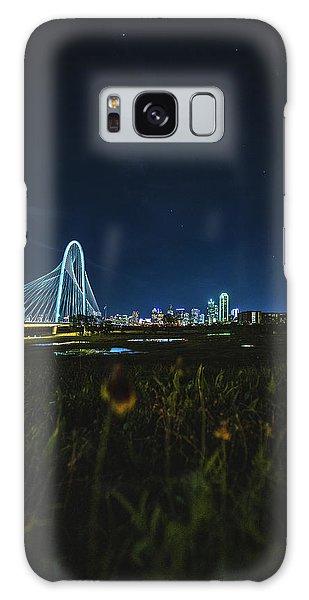 West Dallas Flower Galaxy Case