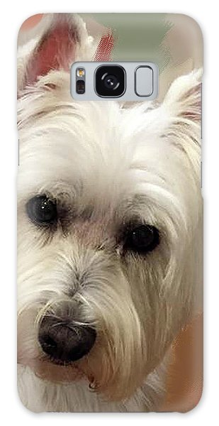 West Highland Terrier Galaxy Case