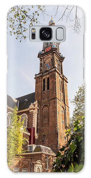 Westerkerk In Amsterdam Galaxy Case