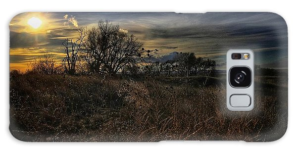 Galaxy Case featuring the photograph Western Nebraska Winter by Dan Miller