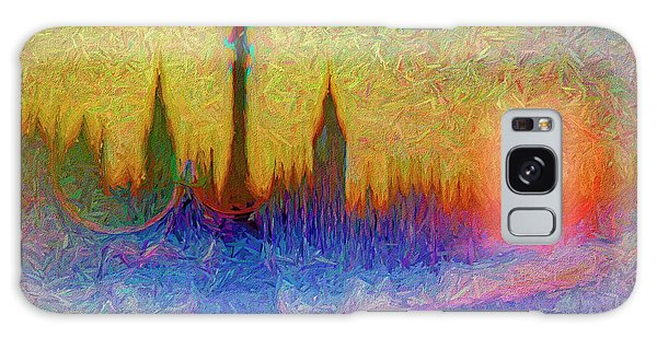Galaxy Case featuring the digital art Westminster by Edmund Nagele
