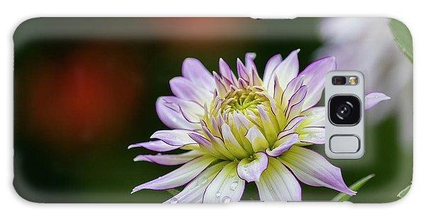 Wet Petals Dahlia Galaxy Case