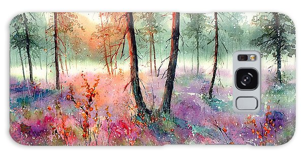 Bloom Galaxy Case - When Heathers Bloom by Suzann Sines