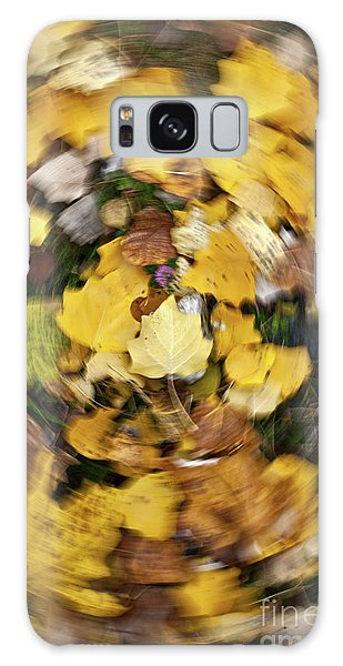 Whirlpool Of Autumn Galaxy Case