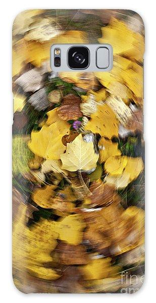 Whirlpool Of Autumn Galaxy Case