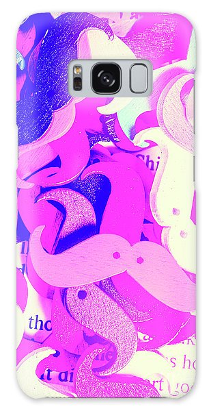 Moustache Galaxy Case - Whiskers And Words by Jorgo Photography - Wall Art Gallery