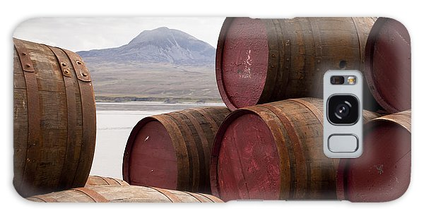 Scottish Galaxy Case - Whisky Barrels On Islayview Over To by Scott Jessiman Photo