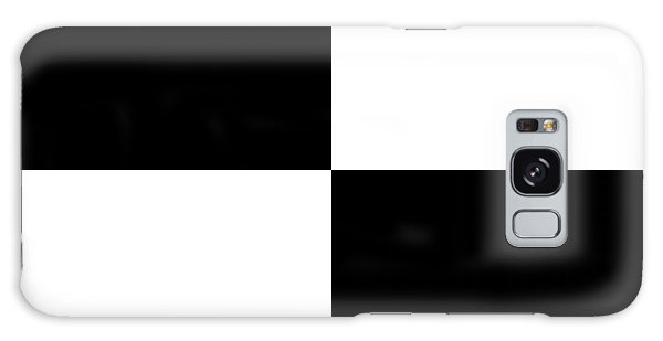 White And Black Squares - Ddh586 Galaxy Case