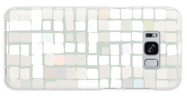 Galaxy Case featuring the digital art White by Attila Meszlenyi