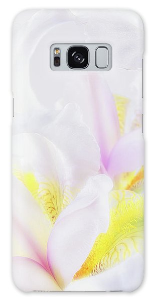 White Iris Galaxy Case
