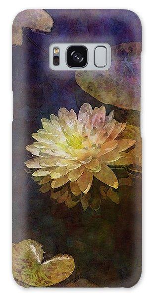 White Lotus Lily Pond 2938 Idp_2 Galaxy Case