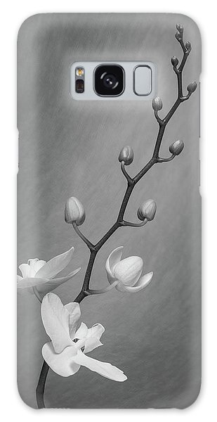 Beautiful Galaxy Case - White Orchid Buds by Tom Mc Nemar