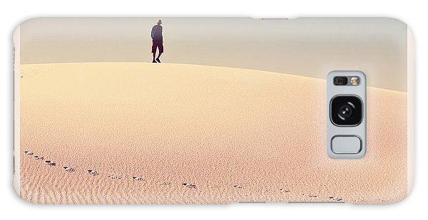 Dawn Galaxy Case - White Sands Park In Usa by Galyna Andrushko