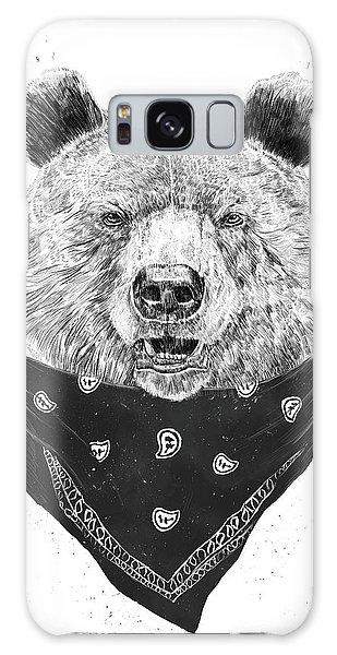 Scarf Galaxy Case - Wild Bear by Balazs Solti