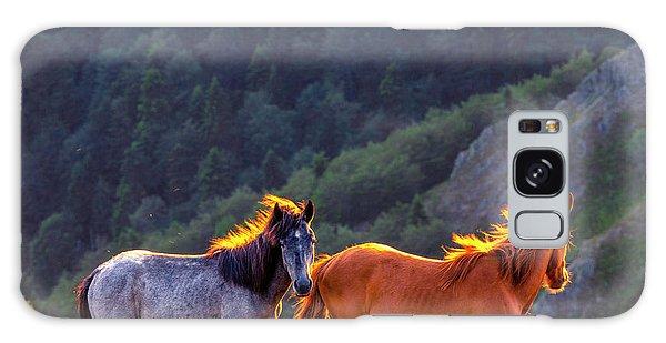 Wild Horses Galaxy Case