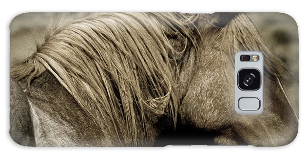Wild Mustangs Of New Mexico 13  Galaxy Case