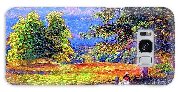 Dress Galaxy Case - Wildflower Fields by Jane Small