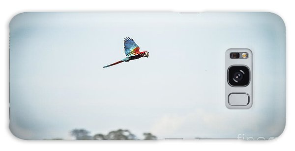 Macaw Galaxy Case - Wildlife Of Tambopata, Madre De Dios by Christian Declercq