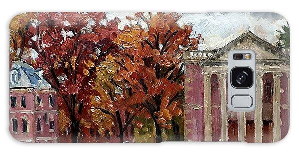 Art Institute Galaxy Case - Williams College Rainy Autumn by Thor Wickstrom