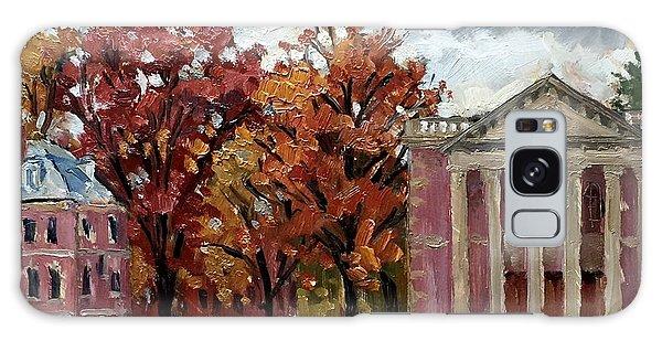 Williams College Rainy Autumn Galaxy Case