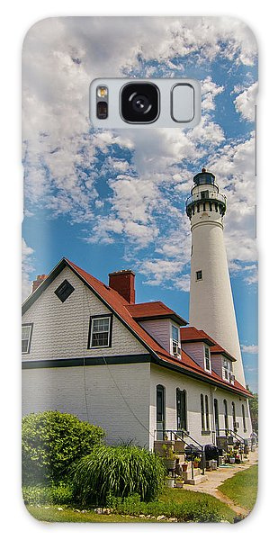 Wind Point Lighthouse No. 2 Galaxy Case