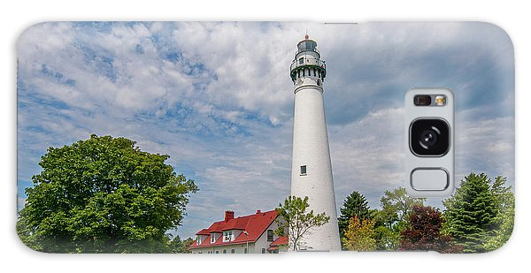 Wind Point Lighthouse No 3 Galaxy Case