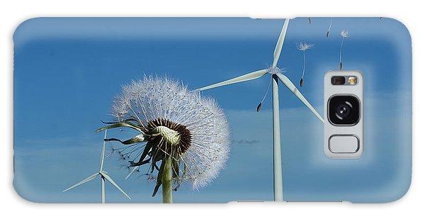 Wind Power Galaxy Case