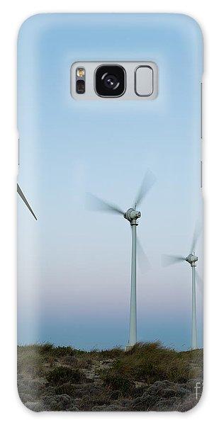 Wind Power Galaxy Case - Wind Turbines Generating Clean Power At by Derege