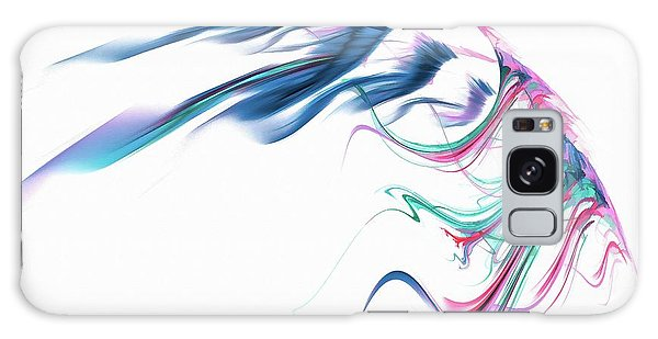 Wing Of Beauty Art Abstract Blue Galaxy Case