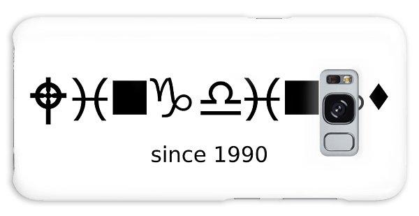Wingdings Since 1990 - Black Galaxy Case