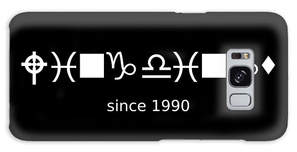 Wingdings Since 1990 - White Galaxy Case