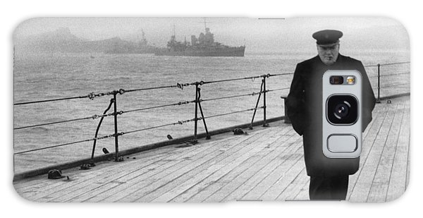 Motion Galaxy Case - Winston Churchill At Sea by War Is Hell Store