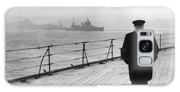 Celebrity Galaxy Case - Winston Churchill At Sea by War Is Hell Store