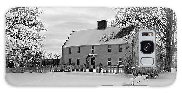 Winter At Noyes House Galaxy Case