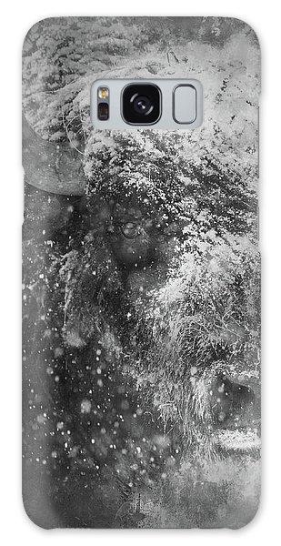 Winter Bison Galaxy Case