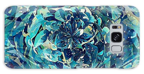 Winter Floral Galaxy Case