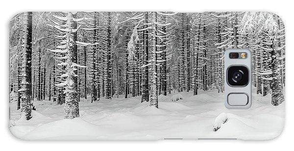 winter forest, Harz Galaxy Case
