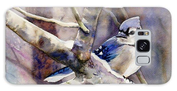 Song Bird Galaxy Case - Winter Jay by Hailey E Herrera