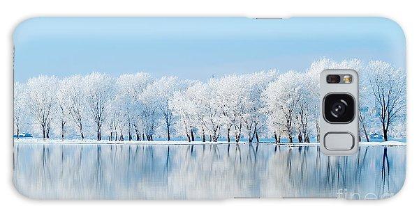 Scenery Galaxy Case - Winter Landscape by Aaltair