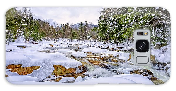 Winter On The Swift River. Galaxy Case