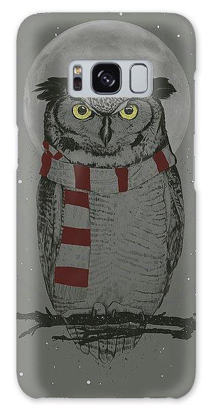Scarf Galaxy Case - Winter Owl by Balazs Solti