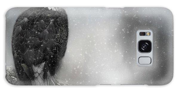 Winter Watcher Galaxy Case